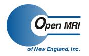 Open MRI of NE